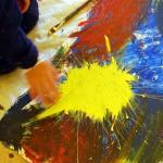 Bringe wieder mehr Farbe in dein Leben und hab Spaß beim malen.