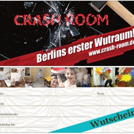 Gutschein Crash Room